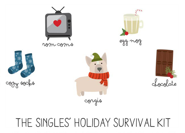 The Single's Holiday Survival Kit